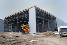 Industrial building (12 900sq.ft.), Sonaca, Saint-Janvier